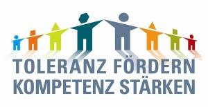 Logo - TOLERANZ FÖRDERN - KOMPETENZ STÄRKEN